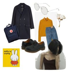 """""""Untitled #31"""" by jourdemiel on Polyvore featuring GET LOST, MANGO, Dr. Martens and Fjällräven"""