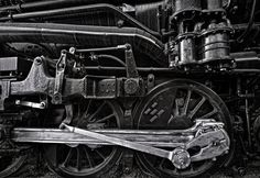 Roanoke Locomotive by Clifford Gwinn