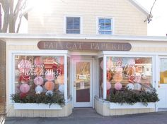 I am loving the storefront got Fat Cat Paperie.