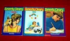 Beverly Cleary Lot 3 Chapter Books Newbery Mr. Henshaw Strider Socks Teachers Beverly Cleary, Guided Reading Levels, Chapter Books, Book Title, Book Authors, Good Books, Im Not Perfect, Pets, I'm Not Perfect