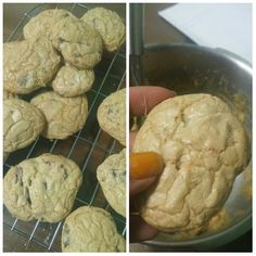 My second try baking chocolate cookies...and i made it right^^