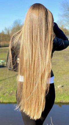 Easy Hairstyles For Long Hair, Long Hair Cuts, Cool Hairstyles, Long Hair Styles, Ayurveda For Hair Loss, Hair Wings, Long Silky Hair, Beautiful Long Hair, Fall Hair