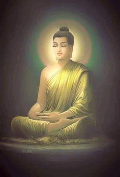 Budha Art, Bodh Gaya, Buddha Life, Buddha Sculpture, Gautama Buddha, Sacred Feminine, Zen Art, Buddhist Art, Indian Paintings