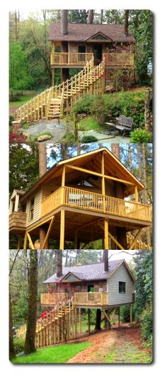 A treehouse a client of treehousesupplies.com built
