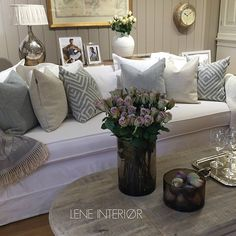 8e2a2346542 #ShareIG LENE INTERIØR ønsker alle en flott helg Sofa og bord fra Riviera  Maison,
