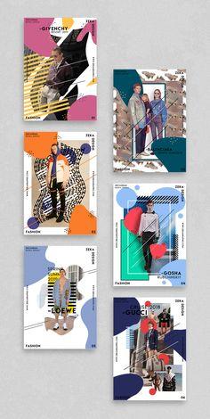 Fashion Poster Design Project Graphic Design Inspiration by Zeka Design - Fashion Full Poster Design and Graphic Design Project by Zeka Design, minimalist poster design layo - Poster Design Layout, Event Poster Design, Poster Design Inspiration, Graphic Design Layouts, Graphic Design Projects, Graphic Design Posters, Game Design, Book Design, Cover Design