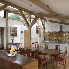 Timber-framed home - interior