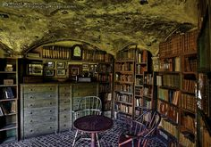 Fonthill Castle library; photo by Tom Vranas #books