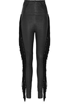 Isabel Marant Ponui fringed leather leggings