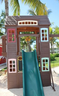 Kids Playground at Old Bahama Bay - just one of the amazing things for kids to do here.  Family Travel in the Bahamas.