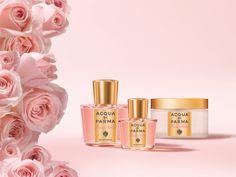 #acquadiparma #feminine #fragrances #rosa #nobile #rosanobile Eau de Parfum & Velvety Body Cream