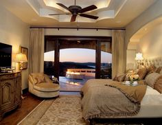 Luxurious Master Bedroom Interior For Your Sweet Home Rough Hollow Elegant Master Bedroom Sunset Views Lake Farmhouse Bedroom Furniture, Girls Bedroom Furniture, Master Bedroom Interior, Modern Bedroom Design, Bedroom Designs, Master Bedrooms, Modern Bedrooms, Bedroom Ceiling, Clean Bedroom
