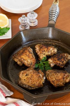 These roasted Greek chicken thighs were a super easy dish to throw together, smelled fantastic while they roasted and tasted wonderful. Greek Seasoning, Chicken Thigh Recipes, Greek Chicken, Entree Recipes, Chicken Thighs, Tandoori Chicken, Food Print, Entrees, Kitchens