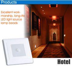 Led Night Lights Ambitious 0.5w Light Sensor Control Night Light Mini Lamps Eu Us Plug-in Auto Sensor Control Led Square Light Lamp For Bedroom Hallway