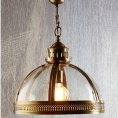 Winston Glass Pendant in Antique Brass – The Lighting Lounge Australia Glass Pendant Light, Pendant Lights, Glass Pendants, Victorian Era, Antique Brass, The Hamptons, Kitchens, Lounge, Australia