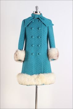 Coat 1960s Mill Street Vintage...I had a coat very similar to this one...same color to..omg