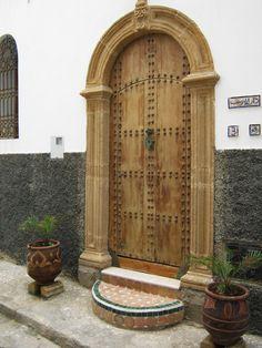 Marokko, Rabat, Türen und Tore