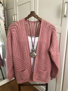 This item is unavailable Crochet Cardigan Pattern, Crochet Jacket, Crochet Patterns, Crochet Wool, Free Crochet, Cocoon Sweater, Crochet Magazine, Jacket Pattern, Crochet For Beginners