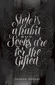 I Love Typography...