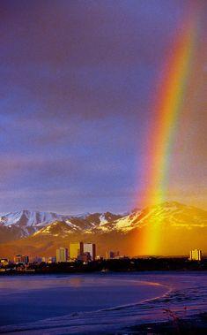 ~~A rainbow over downtown Anchorage, Alaska by Blaine Harrington~~