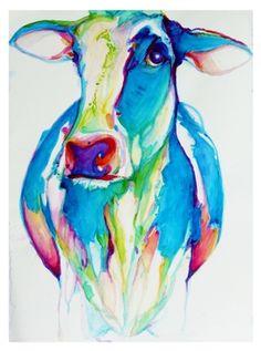 "Somebody should seriously buy me this.   Saatchi Online Artist Dana Gardner-Clark; Painting, ""Dreamland  Pasture  SOLD"" #art"