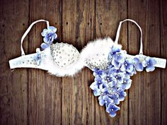 Rave Bra / Flower Bra More