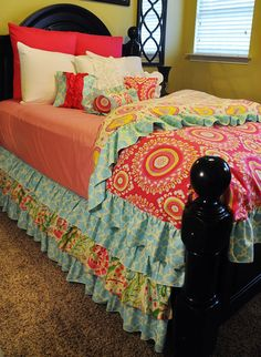 Reversible Duvet Cover by LikeMyMotherDoes on Etsy