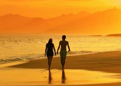 Walking On The Beach is so relaxing.  Walking in the water is also a great workout.