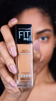Want a glowing complexion? Mix Maybelline Fit Me Foundation with the Master Strobing Liquid Highlighter for a lit-from-within glow.