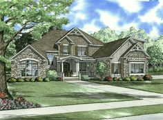 NDG 952 - Clair Drive |  3,167 Sq.Ft. | 3 Bed | 3 Bath  #houseplan #homeplan #traditionalhomes #traditionalhomedesign #homesweethome #familyhome #familystylehomes #familytime #floorplan #upperfloor #bedrooms #bonusroom #balcony #mastersuite #outdoorliving #greatroom #fireplace