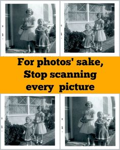 """For some time now, when I read about people conscientiously digitizing every single photo they own, I wonder what I'm missing. The """"Scan Your Life"""" movement holdslittle appeal. I was fortunate to …"""