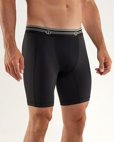 I don't workout without compression shorts and out of all the ones I've ever worked out in, @lululemon's Ript short is the best, in my opinion. Their waist band is tops. The material they use for the short is comfortable and it has a anti-stink mesh panel for ventilation. I love this compression short.