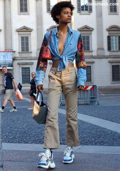 Street Style Looks for Early Fall Street Look, Street Style Looks, Looks Style, Street Wear, Style Androgyne, Androgynous Look, Early Fall, Everyday Look, Harajuku
