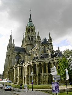 Bayeux Cathedral: this was my favorite of all the cathedrals I had the privilege to see in Europe.