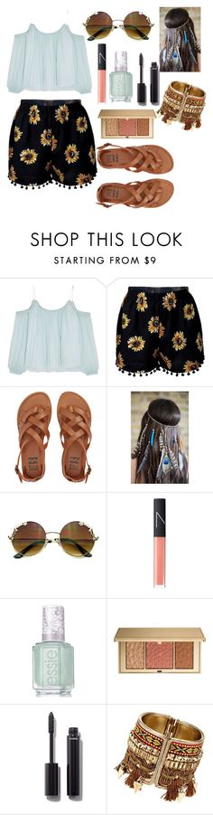 """""""World"""" by dianacrystal on Polyvore featuring Elizabeth and James, Billabong, NARS Cosmetics, Essie, Estée Lauder and Chanel"""