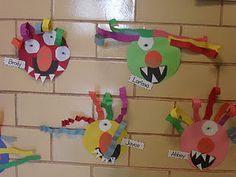 Wild Things for a Hallway display