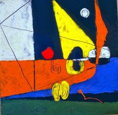 Composition avec lignes géométriques, le Corbusier, 1962