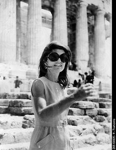 Jackie in Athens circa 1969