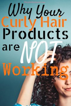 Find out why your curly hair products may not be working for your curls. This incredibly simple method is a game-changer. - Find out why your curly hair products may not be working for your curls. This incredibly simple method is a game-changer! Curly Hair Styles, Curly Hair Tips, Curly Hair Care, Damp Hair Styles, Natural Hair Styles, Frizzy Curly Hair Products, Curly Frizzy Hair, Curly Hair Shampoo, Style Curly Hair