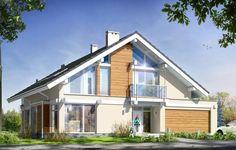 Projekt Otwarty to piękny, oryginalny dom jednorodzinny, przeznaczony dla cztero-sześcioosobowej rodziny. Charakteryzuje się nowoczesną architekturą z dużą ilością przeszkleń i otwarć - dedykowany jest Klientom, którzy chcą wyróżnić się ciekawym, dobrze przemyślanym i funkcjonalnym budynkiem. Dom Otwarty został zaprojektowany jako budynek parterowy z użytkowym poddaszem, o bardzo jasnym układzie konstrukcji, opartym na siatce słupów i podciągów.