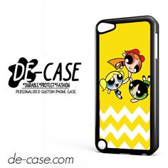 The Powerpuff Girls Chevron DEAL-10977 Apple Phonecase Cover For Ipod Touch 5