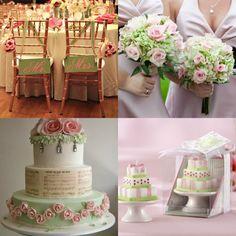 Realizando um Sonho   Blog de casamento e lar doce lar: Decoração ROSA e VERDE