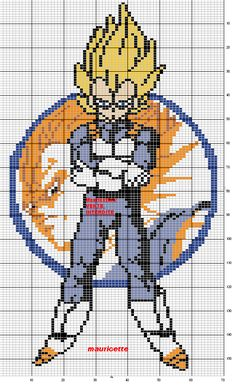 Dragon Ball pattern by Mauricette