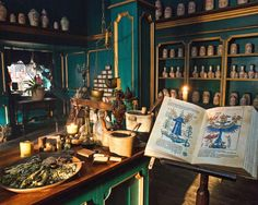 """Master Raymond's Apothecary – """"Dragonfly in Amber"""" Outlander Season 2 Witch Cottage, Witch House, Bar Medieval, Küchen Design, Interior Design, Outlander Casting, Outlander Series, Starz Series, Outlander Season 2"""
