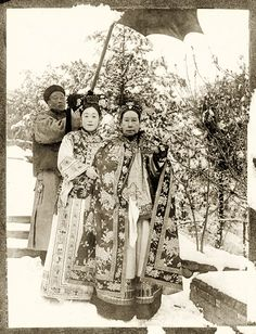 Empress Dowager Cixi or Tzu-hsi / 慈禧太后 , of the Manchu Yehenara clan, was a powerful and charismatic woman who unofficially but effectively controlled the Manchu Qing Dynasty in China for 47 years, from 1861 to her death in 1908.