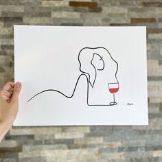 Wie Zeichnet Man Manga, Im Happy For You, Wine Art, Female Bodies, Calm, Concept, Art Prints, Canvas, Paper