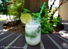Nothing says summer like this mojito cocktail with a tropical twist! It's finally warming up here in the Pacific Northwest. Bacardi Mojito, Mojito Cocktail, Summer Cocktails, Smirnoff, Rum Recipes, Alcohol Drink Recipes, Cocktail Recipes, Party Recipes, Coconut Mojito