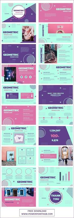 Geometric PowerPoint Template Design Powerpoint Templates, Free Powerpoint Presentations, Professional Powerpoint Templates, Flyer Template, Microsoft Powerpoint, Free Ppt Template, Business Presentation Templates, Presentation Design Template, Presentation Layout