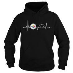 Pittsburgh Steelers Sweatshirt Heartbeat