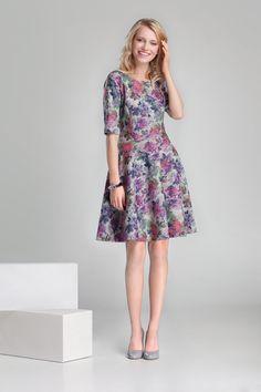 Nowa kolekcja #danhen #jesienzima2014 #fw2014 #fashion #flowers #kwiatki #sukienka #girly
